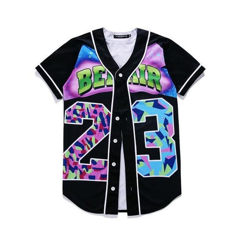 Bel Air Button Up Jersey Tee