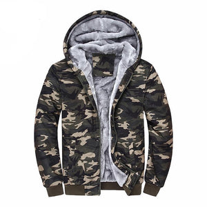 Camo Fleece Jacket