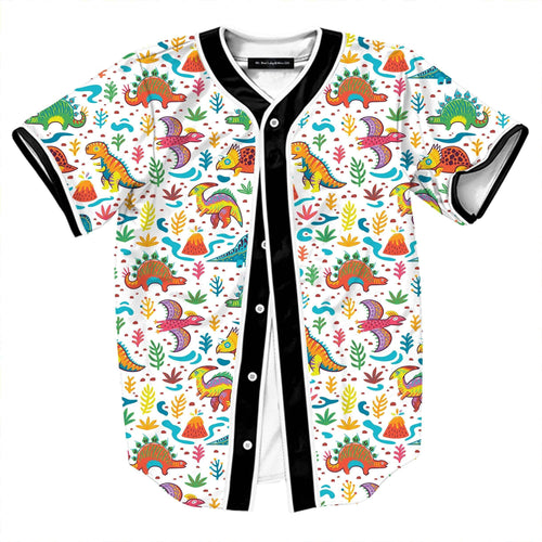 Colorful Dinosaur Jersey