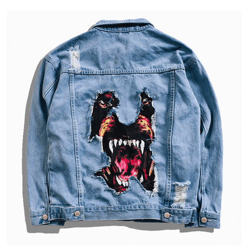 Barking Dog Denim Jacket