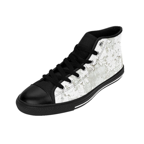 Women's Cracked Paint Sneakers