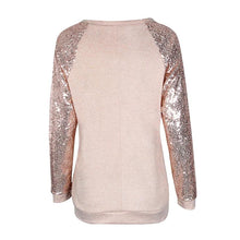 Gold Sequin Long Sleeve