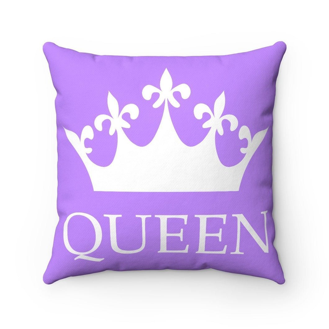 Home Decor - Lavender Queen Throw Pillow