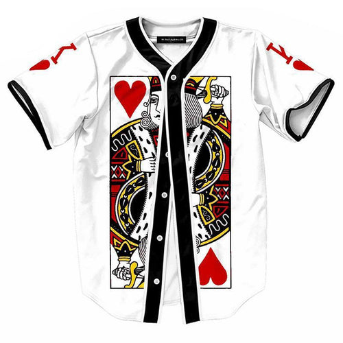King Of Hearts Button Up Tee