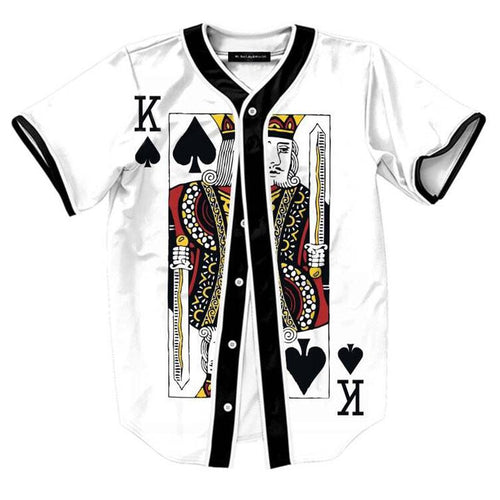 King of Spades Button Up Jersey