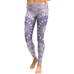 Lilac Mandala Leggings