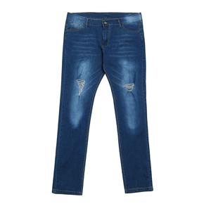 Medium Wash Ankle Jeans