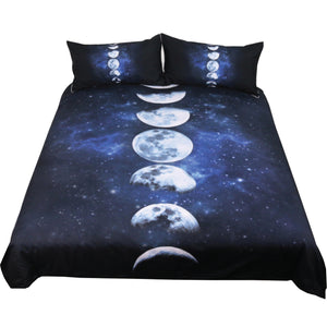 Moon Phase 3pc Bed Set