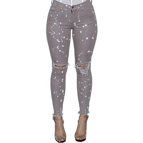 Paint Splatter Jeans