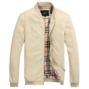Plaid Lined Sport Jacket