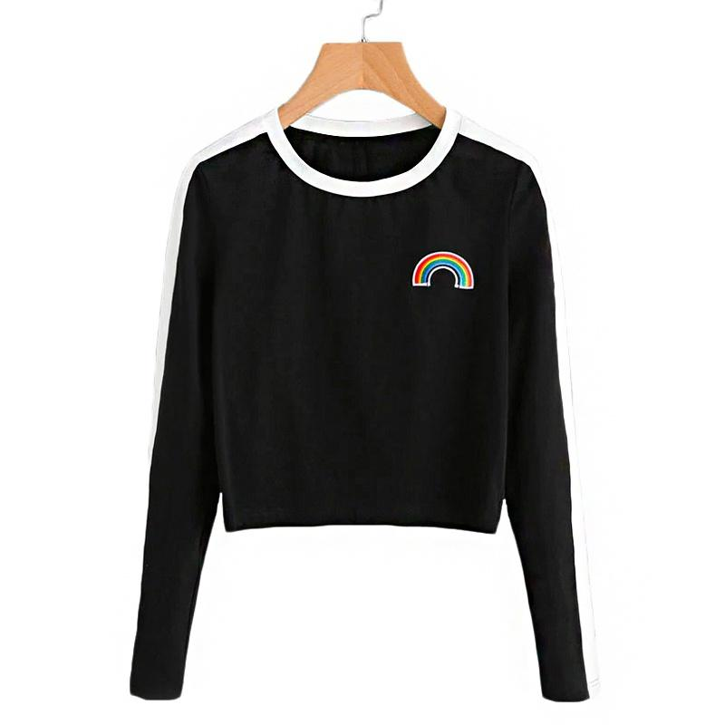 Rainbow Patch Long Sleeve