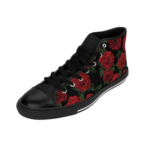 Shoes - Men's Black Rose Sneakers