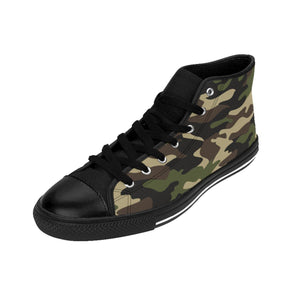 Shoes - Men's Camo Sneakers