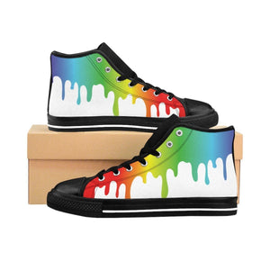 Shoes - Men's Paint Drip Sneakers