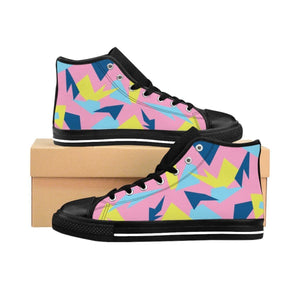 Shoes - Men's Pink 90s Retro Sneakers