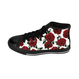 Shoes - Men's White Rose Sneakers