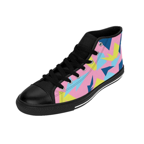 Shoes - Women's Pink 90s Retro Sneakers