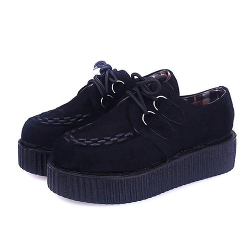 Women's Black Creepers