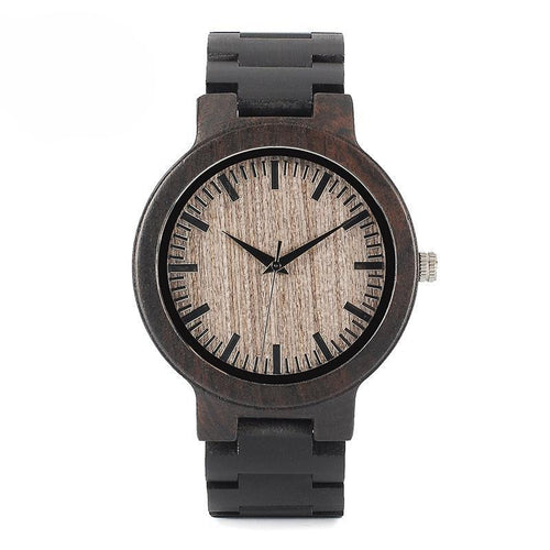 Zebrawood Watch
