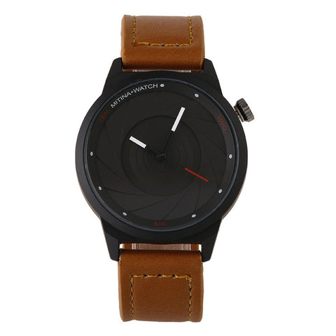 Luxury Casual Men's Leather Watch