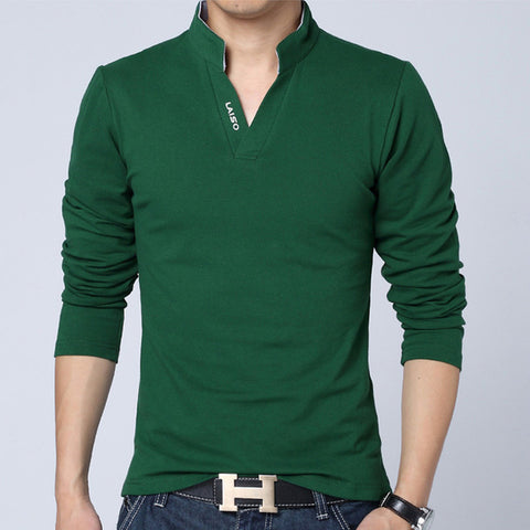 Hot Selling Long Sleeve Fit Cotton T-Shirts