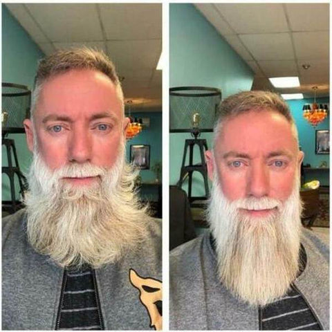 beard straightening comb, beard straightening