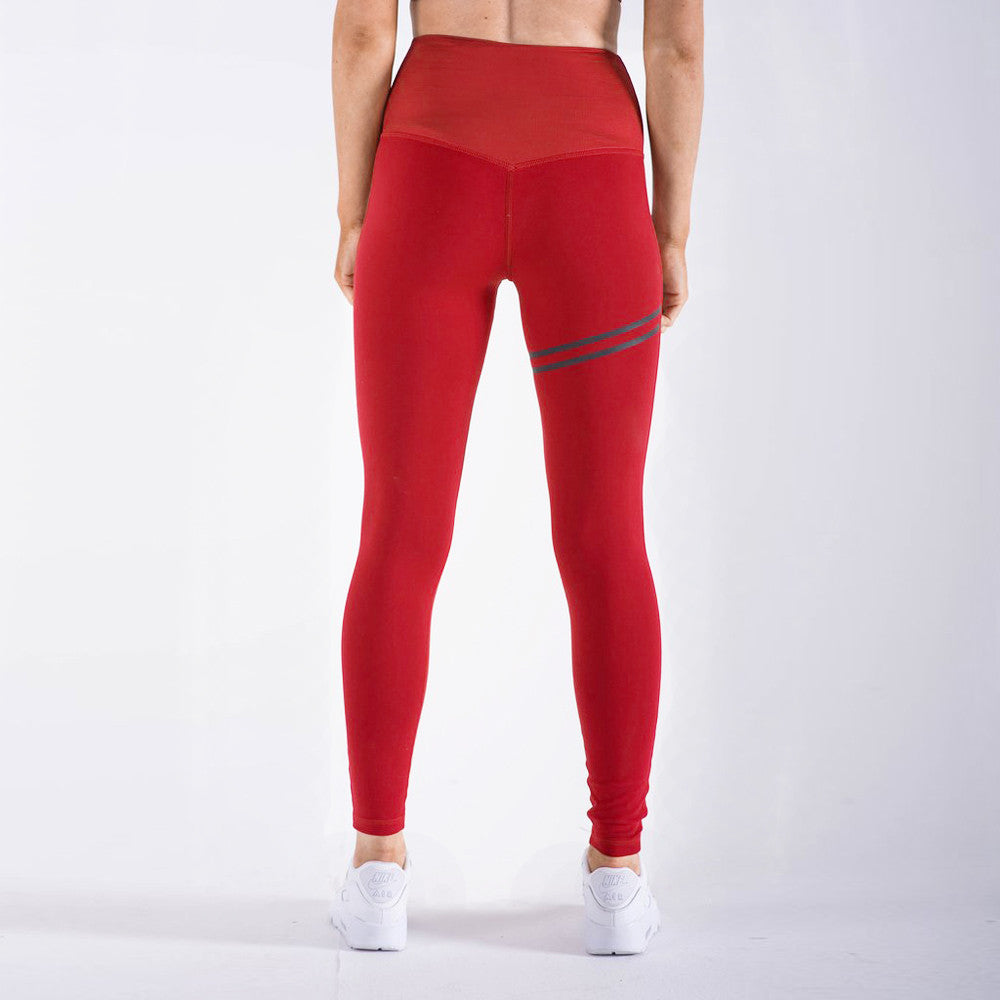 Women Sports Pants High Waist Yoga Fitness Leggings Running Gym Stretch Trousers