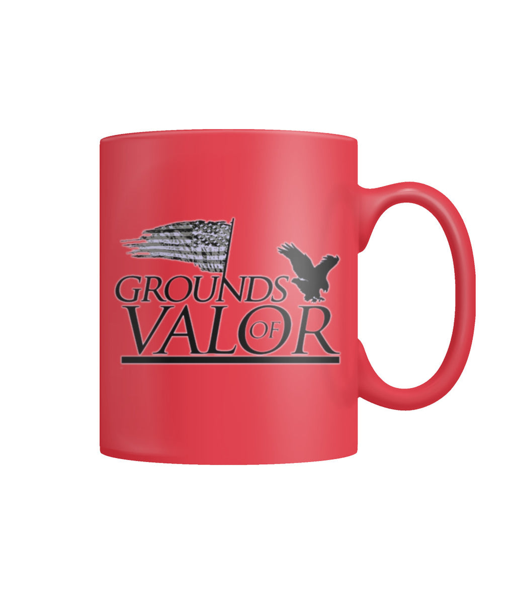 Grounds of Valor Coffee Mug