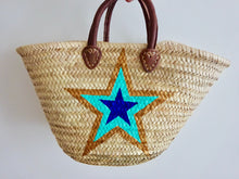 Star market basket bag