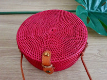 Maya round bag -  plain design