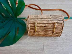 Nilo convertible bum bag - woven bow closure