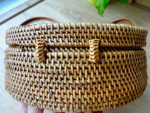 Luna round bag - natural