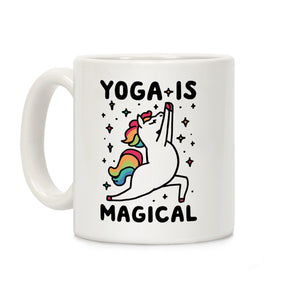 Yoga Is Magical Ceramic Coffee Mug