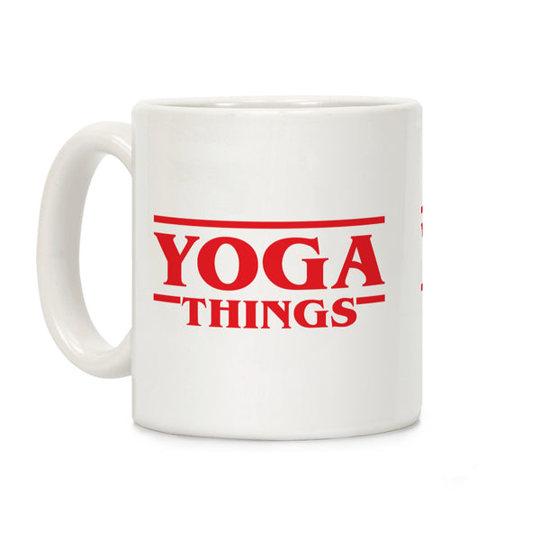 Yoga Things Ceramic Coffee Mug