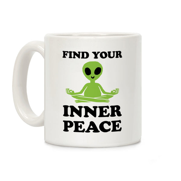 Find Your Inner Peace Ceramic Coffee Mug