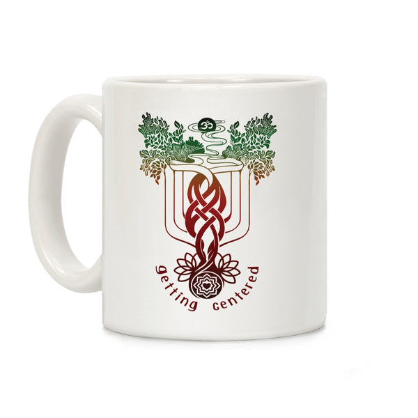 Getting Centered Ceramic Coffee Mug