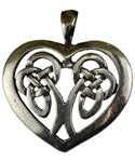 Celtic Heart amulet