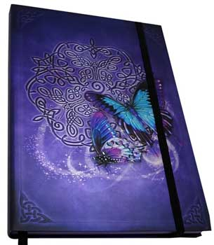 "5 1/2"" x 8"" Celtic Butterfly journal"