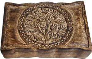 "Tree of Life herb box 6"" x 9"""