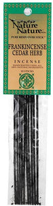 Frankincense/Cedar nature nature stick 10 pack