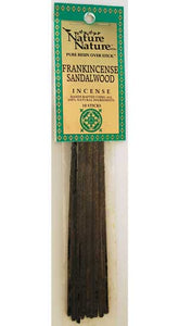 Frankincense/Sandalwood nature nature stick 10 pack