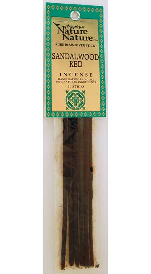 Red Sandalwood nature nature stick 10 pack