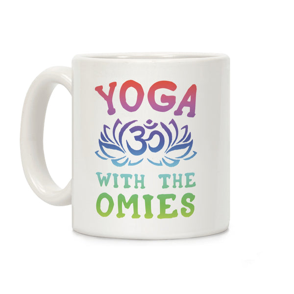 Yoga With The Omies Ceramic Coffee Mug