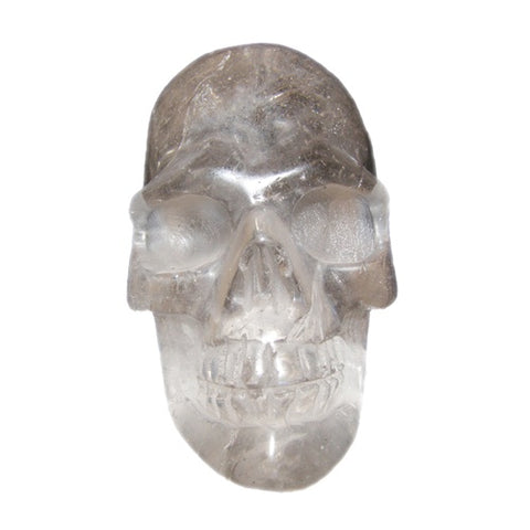 Large Quartz Crystal Skull