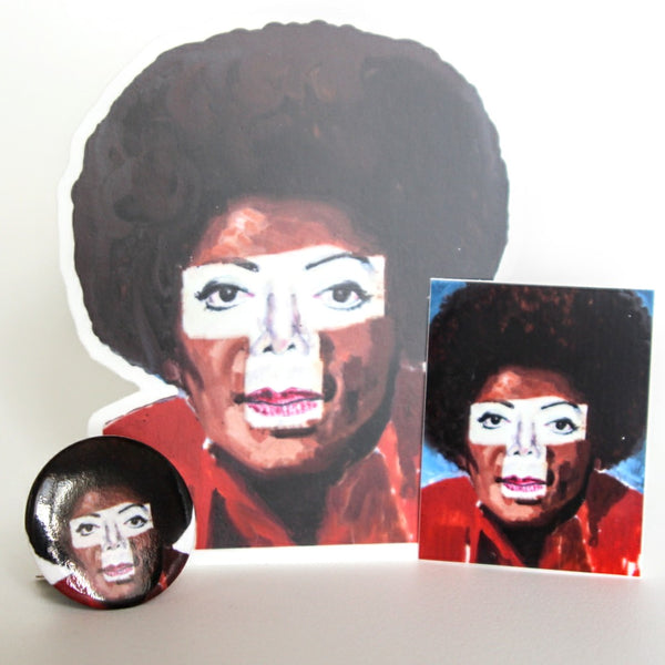 Michael Jackson Stickers and Button Pin