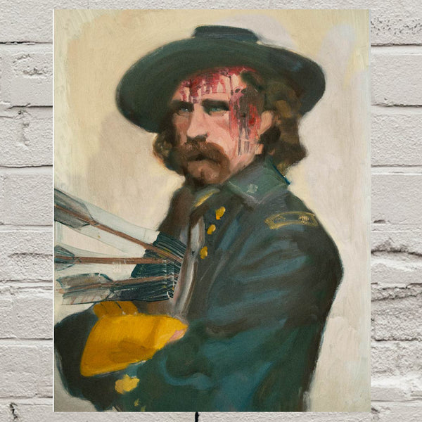 General Custer Signed 11x14 Print