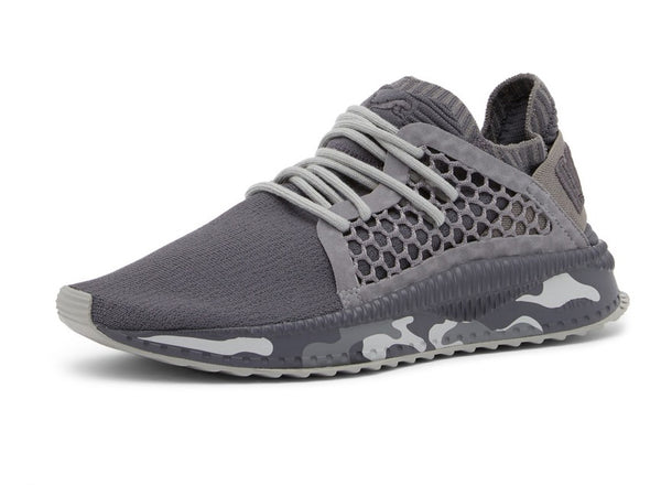 Puma Mens Tsugi Netfit Evoknit Camo Athletic & Sneakers