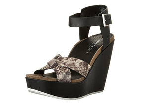 Kenneth Cole Leather Clove Wedge