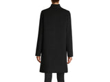HiSO Wing Collar Cashmere and Wool Coat