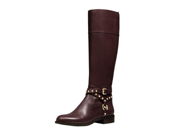 Michael Kors Preston Studded Leather Boot